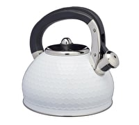 Lovello Textured Stove Top Kettle - Ice White