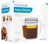 KitchenCraft 1.5 Litre Gravy / Fat Separator and Measuring Jug