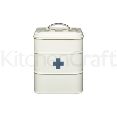 Living Nostalgia Antique Cream First Aid Tin