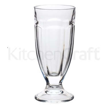 World of Flavours Stateside 350ml Milkshake Glass