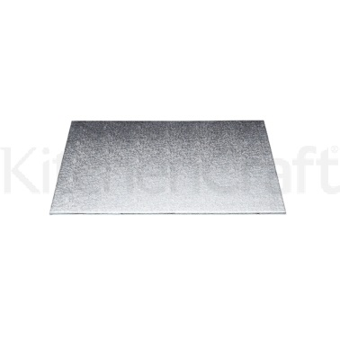 Sweetly Does It Silver 30cm Square Cake Board