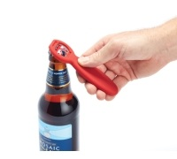 Colourworks Display of 24 Soft Touch Bottle Openers