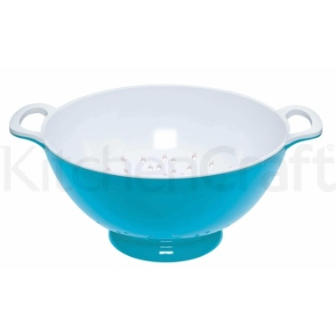 Colourworks Large Blue Melamine Colander