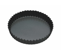 Master Class Non-Stick 23cm Loose Base Fluted Quiche Tin