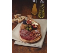 World of Flavours Italian Olive Wood Antipasti / Serving Board