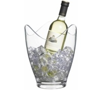 BarCraft Clear Acrylic Drinks Pail / Wine Bucket