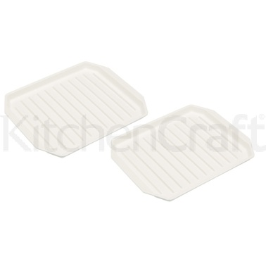 KitchenCraft Set of 2 Microwave Bacon Racks