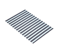 KitchenCraft Woven Turquoise Stripe Placemat