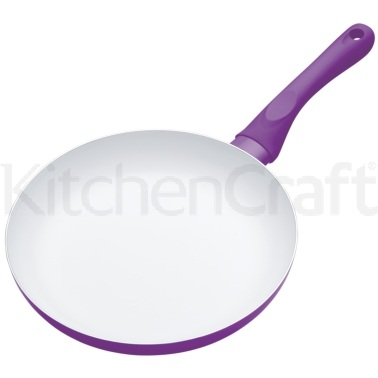 Colourworks Purple Non-Stick 24cm Frying Pan