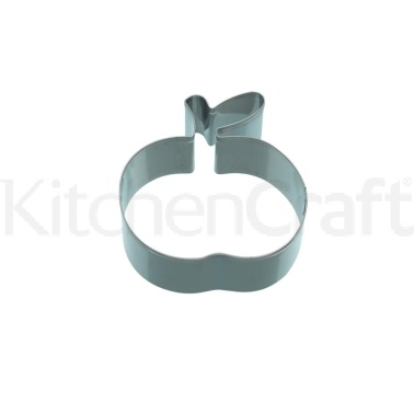 KitchenCraft 8cm Apple Shaped Cookie Cutter