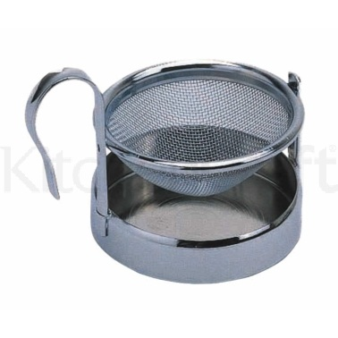 Le'Xpress Stainless Steel Tea Strainer and Stand