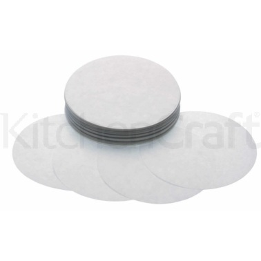 KitchenCraft Hamburger Maker Wax Discs