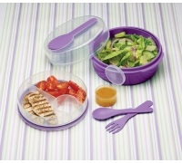 KitchenCraft Purple Salad Box