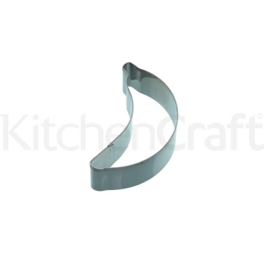 KitchenCraft 8cm Banana Shaped Cookie Cutter