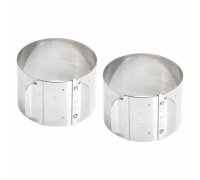 Master Class Stainless Steel Adjustable Cooking Rings