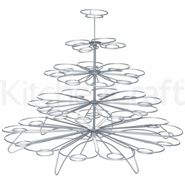Sweetly Does It Wire Cupcake Tree for 36 Cakes