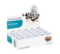 KitchenCraft Display of 25 Mini Box Graters