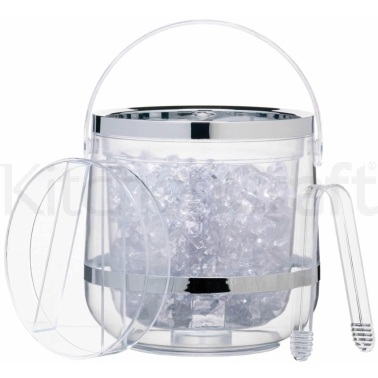 BarCraft Acrylic Double Walled Insulated Ice Bucket