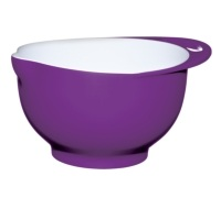 Colourworks Large Purple Melamine Two Tone Mixing Bowl