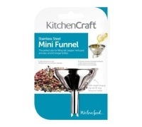 Kitchen Craft Stainless Steel 5.5cm Mini Funnel
