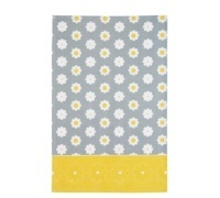 KitchenCraft Retro Flower Set of 2 Tea Towels