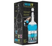Mix It set di 6 bicchierini e decanter