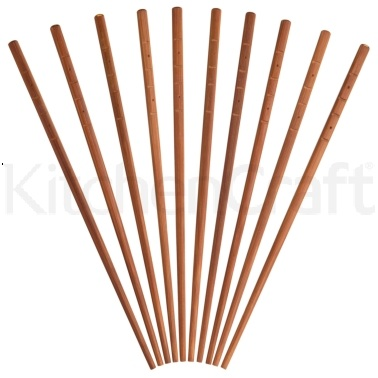 KitchenCraft Oriental Bamboo Chopsticks