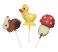 Hoppity Does It Silicone Chocolate Easter Lollipop Mould