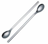 Master Class Two Deluxe Stainless Steel Ice Cream / Soda Spoons
