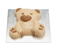 Sweetly Does It Silver 25cm Square Cake Board