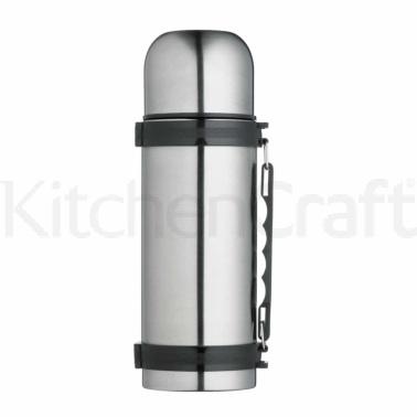 MasterClass Stainless Steel 1 Litre Vacuum Flask