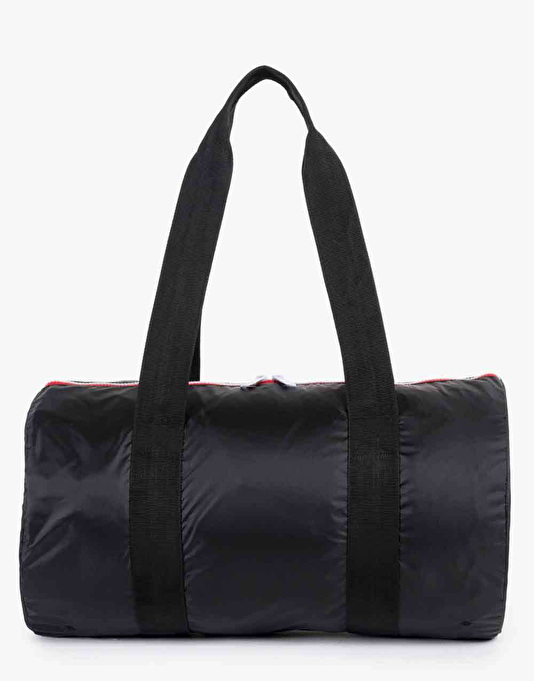 Herschel Supply Co. Packable Duffel Bag - Black/Navy/Red