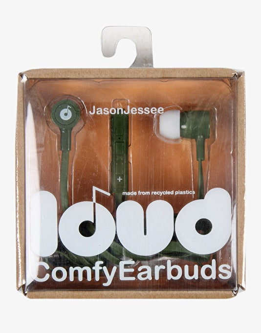 Loud Fat & Flat Earbud Headphones - Jason Jessee