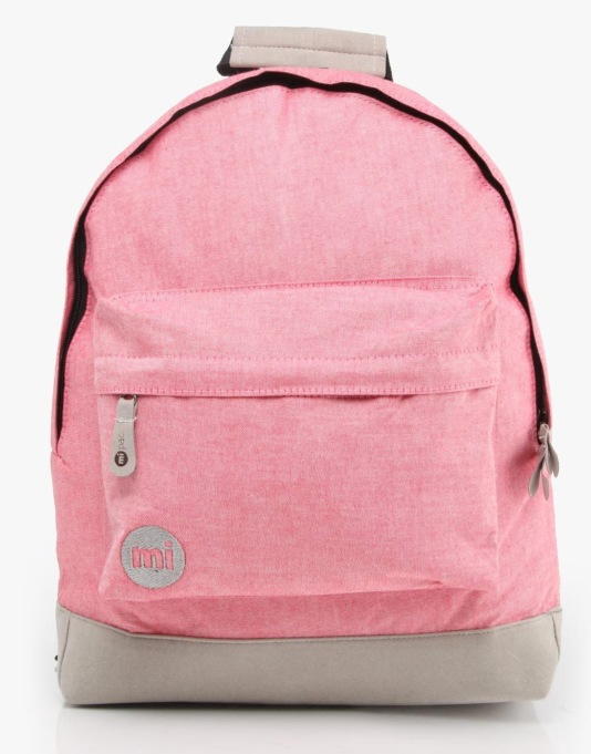 Mi-Pac Chambray Backpack - Red