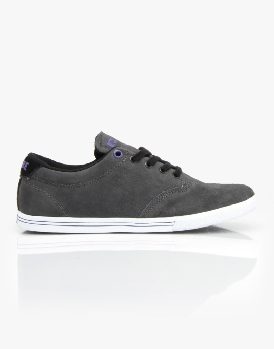 Globe Lighthouse Slim Skate Shoes - Charcoal