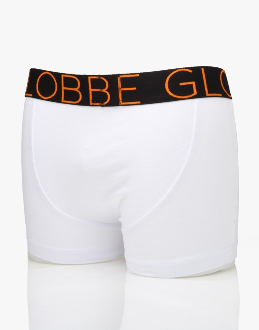 Globe Lindros 2 Pack Jersey Brief - White/White