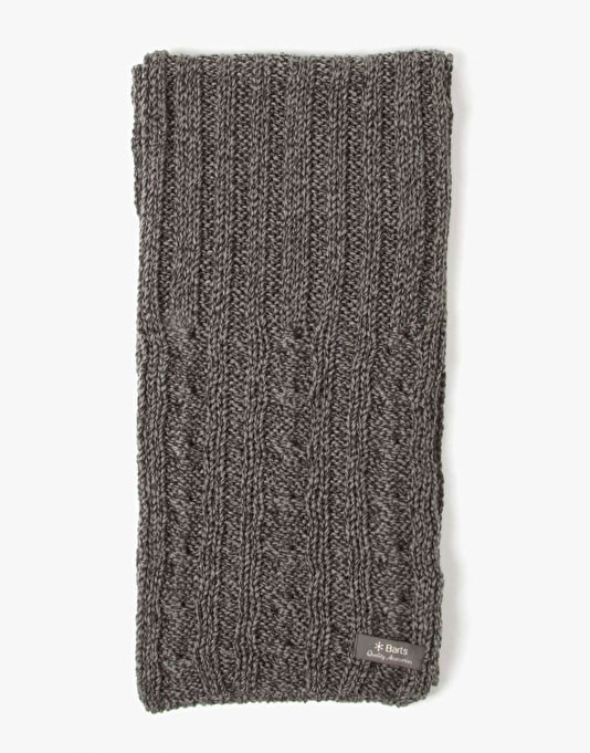 Barts Ford Scarf - Heather Grey
