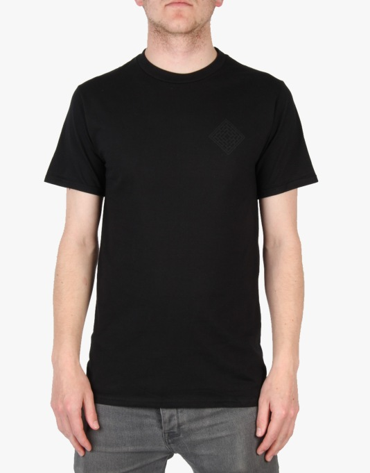 The National Skateboard Co. Mono Logo T-Shirt - Black