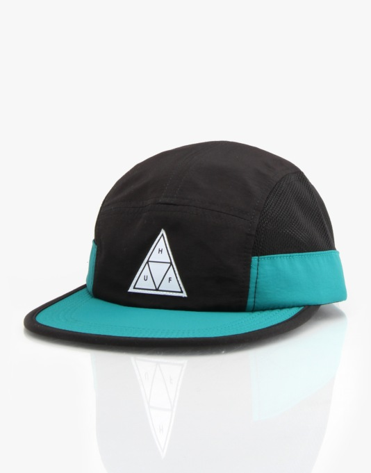 HUF Side Mesh Scout 5 Panel Cap - Black