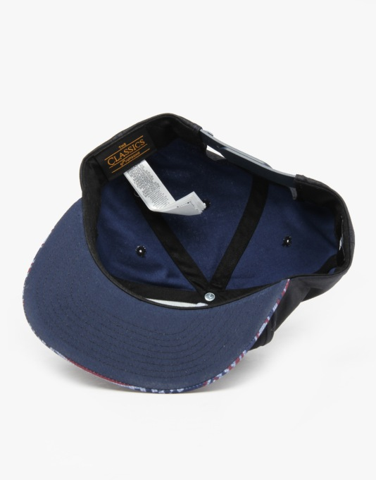 DC About Face Snapback Cap - Navy
