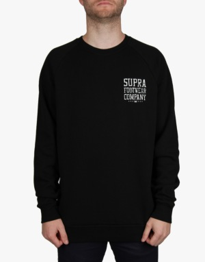 Supra Sketchblock Crew Sweat - BLK