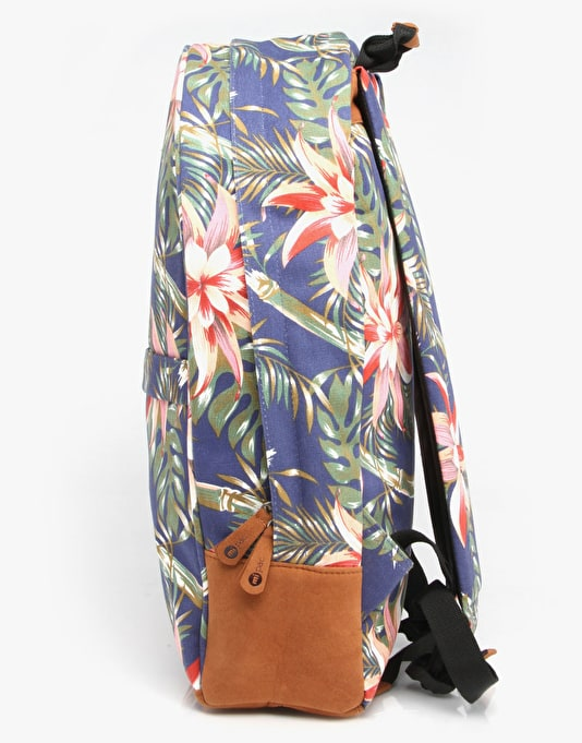 Mi-Pac Maxwell Palm Floral Backpack - Navy