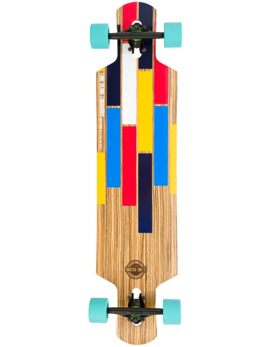 "Long Island Bushido Drop Through Longboard - 40.37"" x 9.72"""