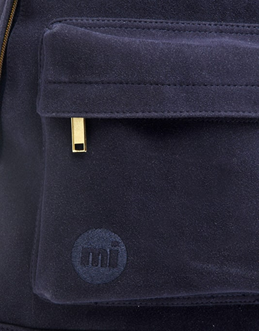 Mi-Pac Gold Suede Backpack - Navy