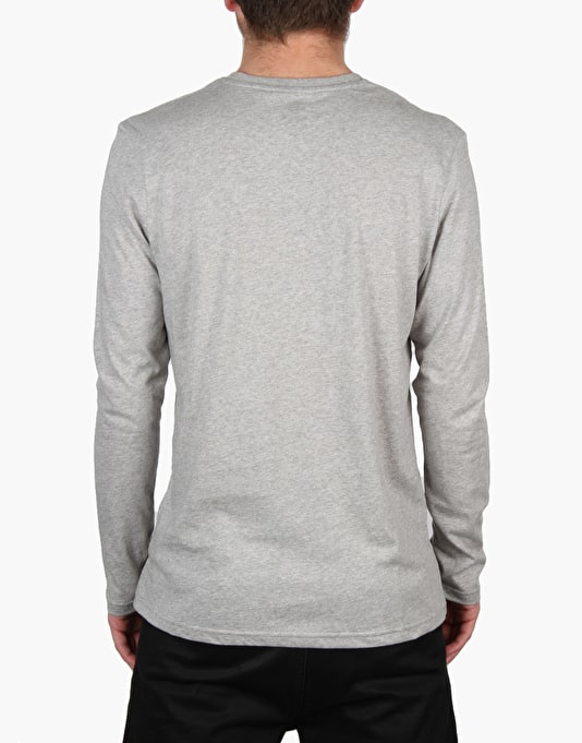 Element Basic Crew L/S T-Shirt - Grey Heather