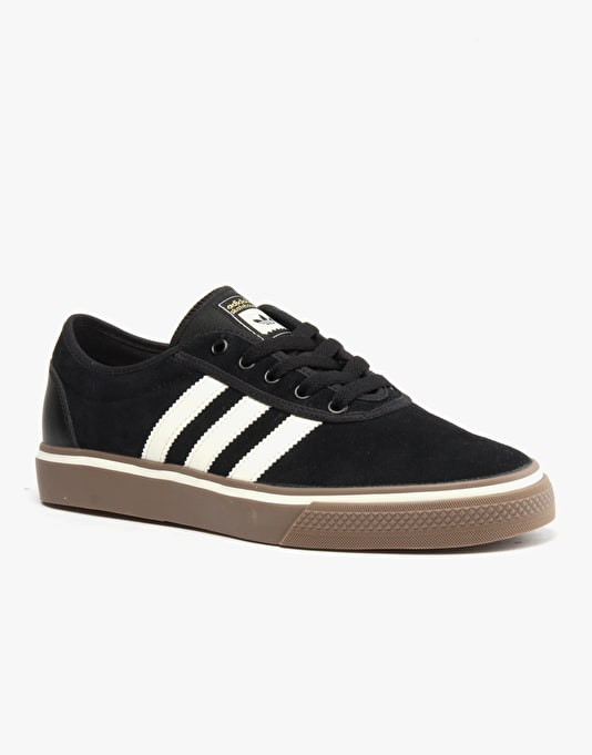 online store 0448a 5fc91 Adidas Adi-Ease ADV Skate Shoes - Core BlackCream WhiteGum  Adidas  Skateboarding  Skate Shoes, Clothing  Snowboards  Route One
