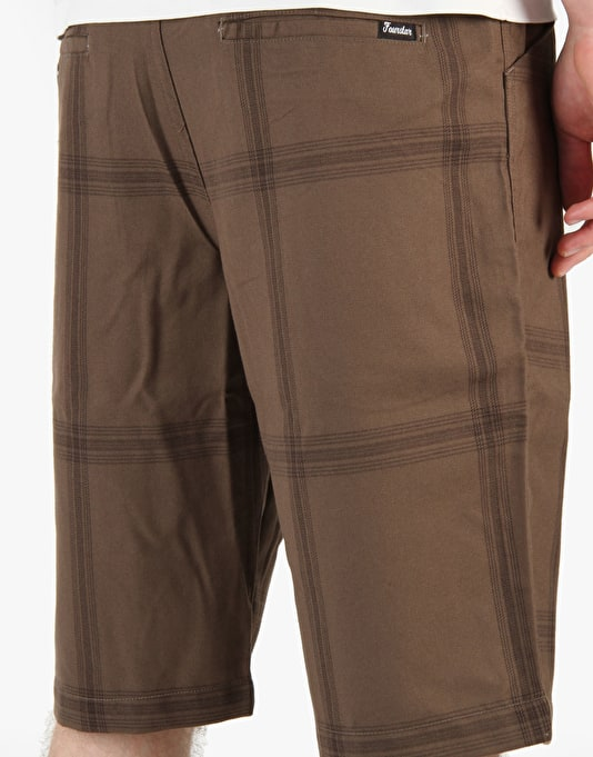 Fourstar Valeijo Shorts - Brown