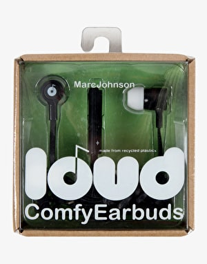 Loud Fat & Flat Earbud Headphones - Marc Johnson