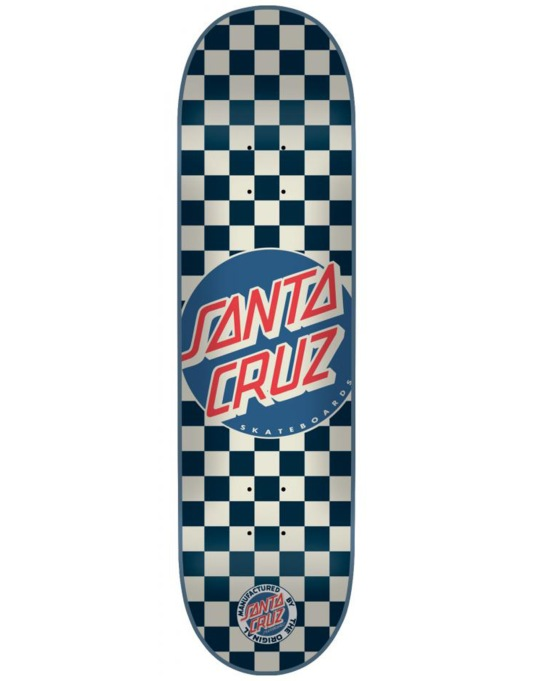 Santa Cruz Check Dot Team Deck - 7.9""