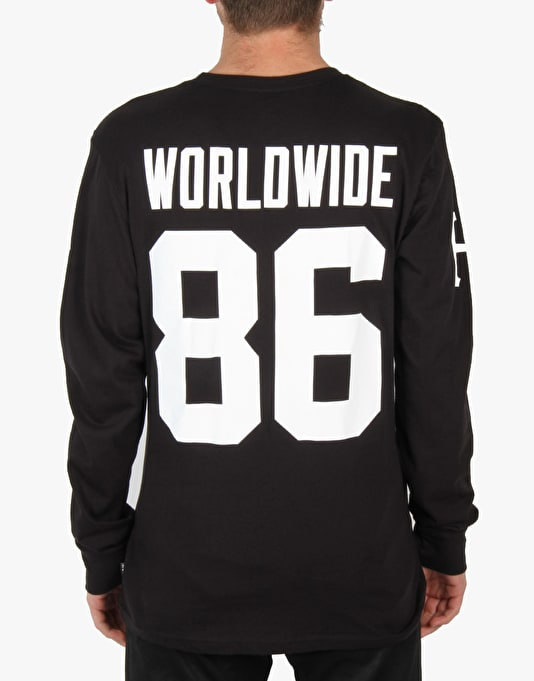 HUF Audible L/S T-Shirt - Black